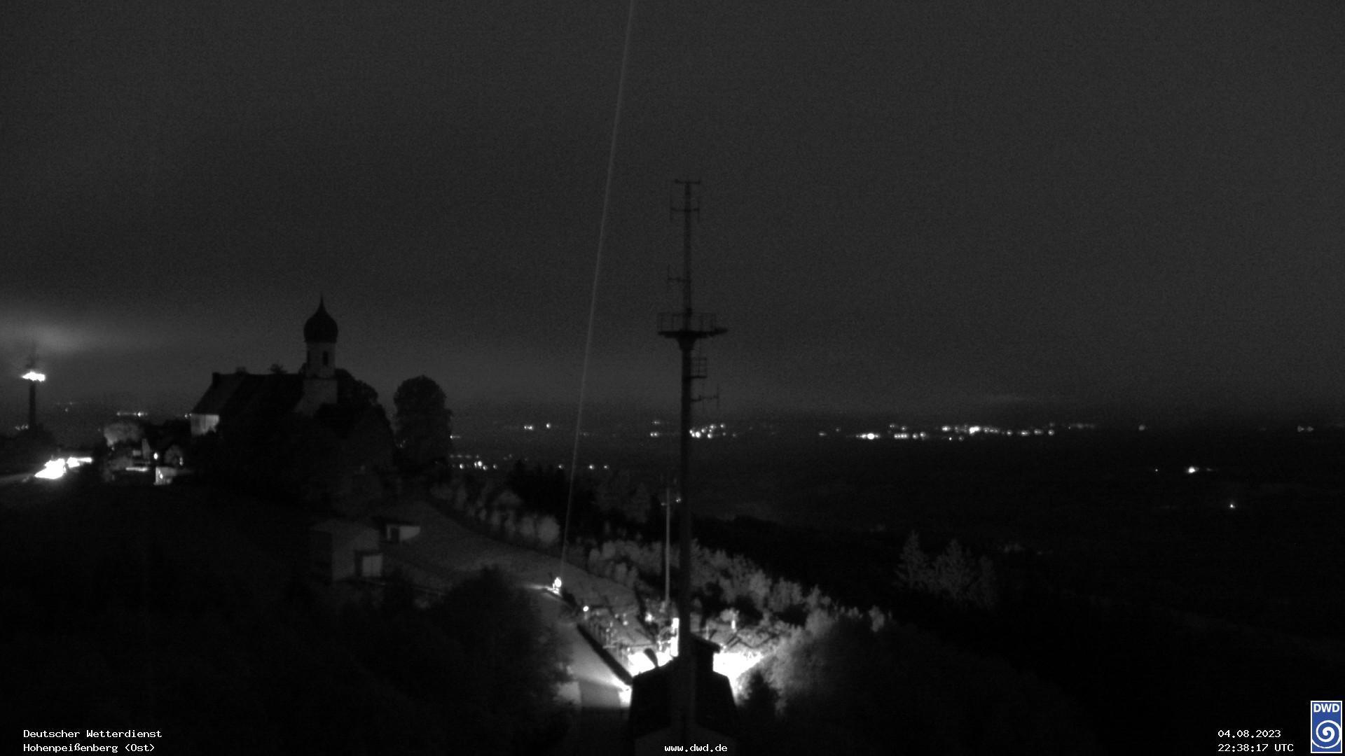 zu den Webcams vom Observatorium Hohenpeißenberg